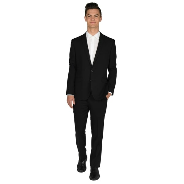 Billy London 32 inch Finished Bottom Black Suit