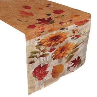 Fall Foliage Table Runner