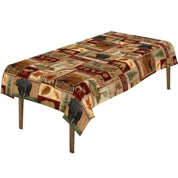 Cabin Collection Tablecloth