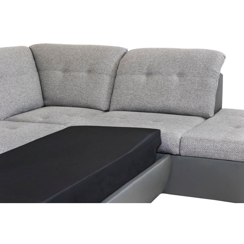 Galaxy B Right Corner Sectional Sofa Bed