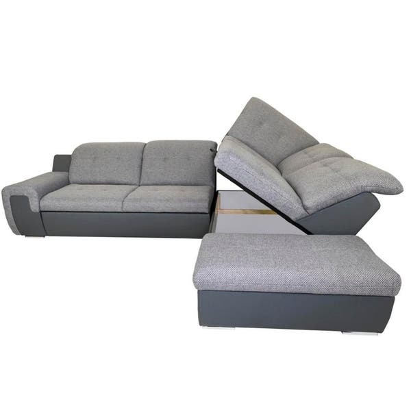 Shop Galaxy B Right Corner Sectional Sofa Bed - Free ...