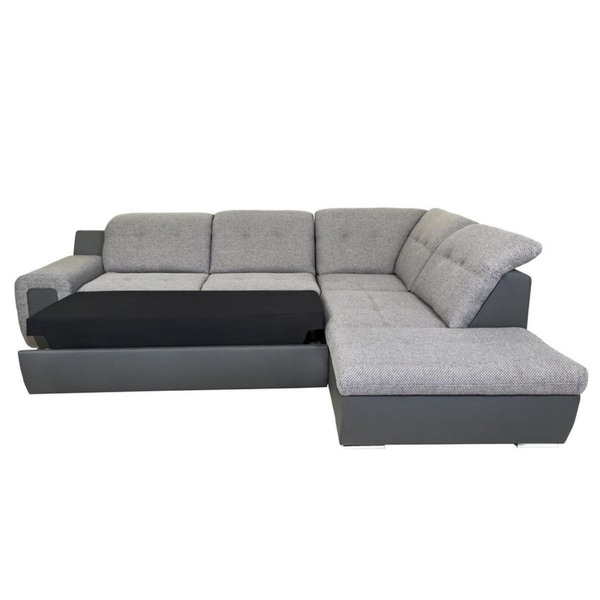 Charmant Galaxy B Right Corner Sectional Sofa Bed