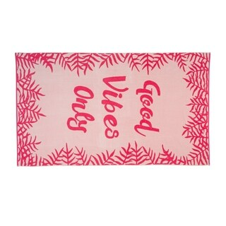 Cosmo Living Good Vibes Only 40x70 Beach Towel - N/A