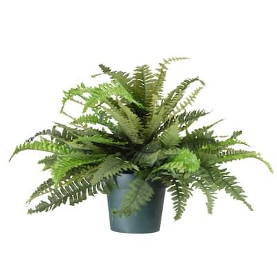 """20"""" Fern Plant - Green"""