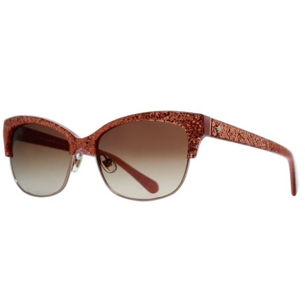 4835e14256 Shop Kate Spade Shira S Women Rose Jade Sunglasses - Free Shipping Today -  Overstock - 23591023