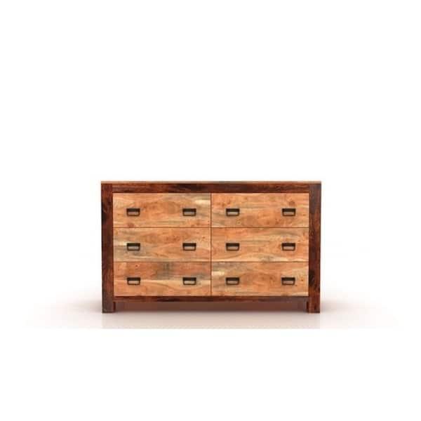 Handmade Ajmer 6 Drawer Dresser India