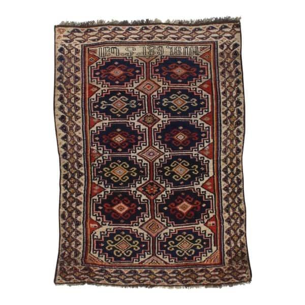 Pasargad Dc Antique Armenian Lamb Wool Rug 3 10 X 5