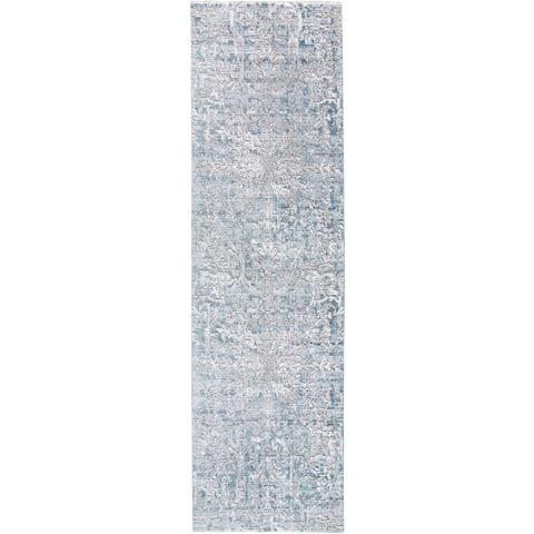 "Grand Bazaar Tirza Atlantic Runner (2' x 8') - 2'3"" x 8'"