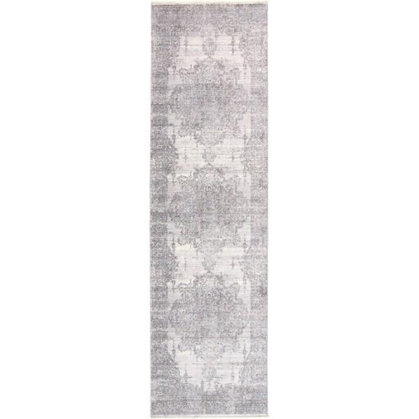 "Grand Bazaar Tirza Gray (2'3"" x 8') - 2'3"" x 8'"