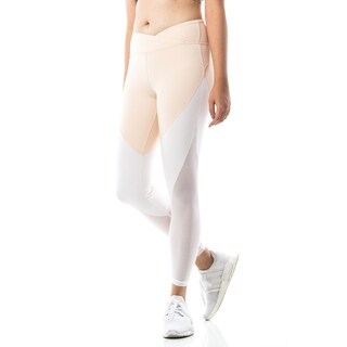 Figur Activ 7/8 Length Yoga Legging with Ombre Color and Mesh