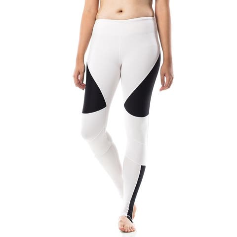 Figur Activ Yoga Leggings with Moto Mesh and V Front Waist