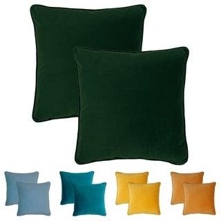 Sherry Kline Glendon Velvet 20-inch Pillows (Set of 2)