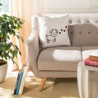 Safavieh Puppy Love Decorative Pillow- Assorted
