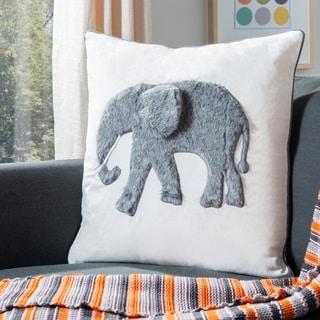 Safavieh Snuffles Elephant 20-inch Decorative Throw Pillow