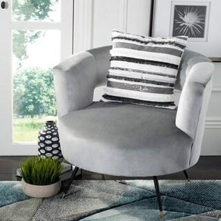 Safavieh Amalia Pillow- Ivory / Grey