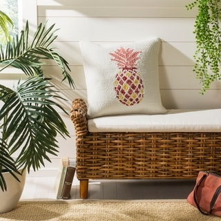 Safavieh Pure Pineapple Decorative Pillow- Red / Yellow
