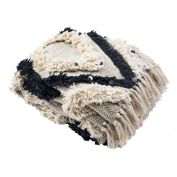 Safavieh Lila Grace Tufted Throw. Opens flyout.