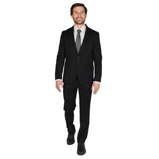 "Dockers Black 32"" Finished Bottom Suit"