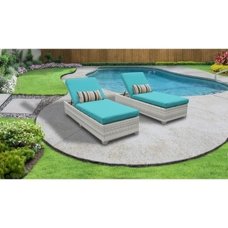 Link to Fairmont Chaise Set of 2 Outdoor Wicker Patio Furniture Similar Items in Outdoor Sofas, Chairs & Sectionals