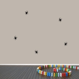 Set of Spiders Wall Decals