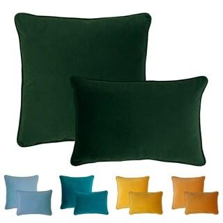 Sherry Kline Glendon Velvet Combo Pillows