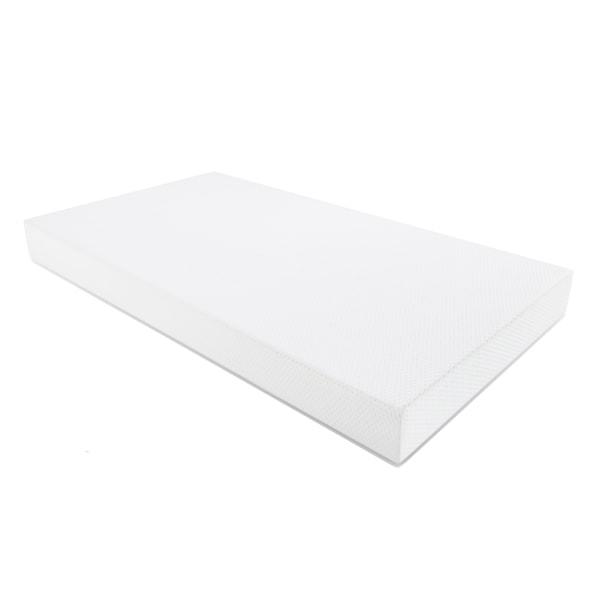 Graco Premium Foam Crib and Toddler Mattress, Water Resistant Breathable Foam Safe Sleep Mattress - White