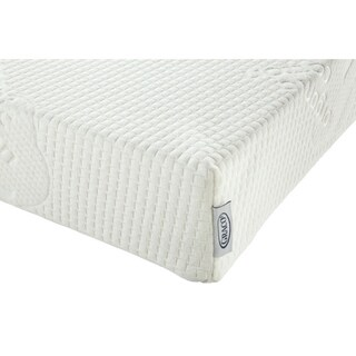 Graco Natural Organic Foam Crib and Toddler Mattress, Water Resistant Breathable Foam Safe Sleep Mattress - Off White
