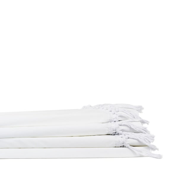 Lace Crisp Percale Cotton Tel Sheet Set Free Shipping Today 23592220