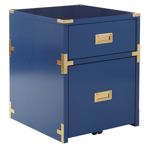 OSP Home Furnishings Wellington 2 Drawer File Cabinet