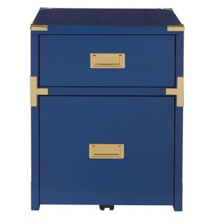 OSP Designs Wellington 2 Drawer File Cabinet