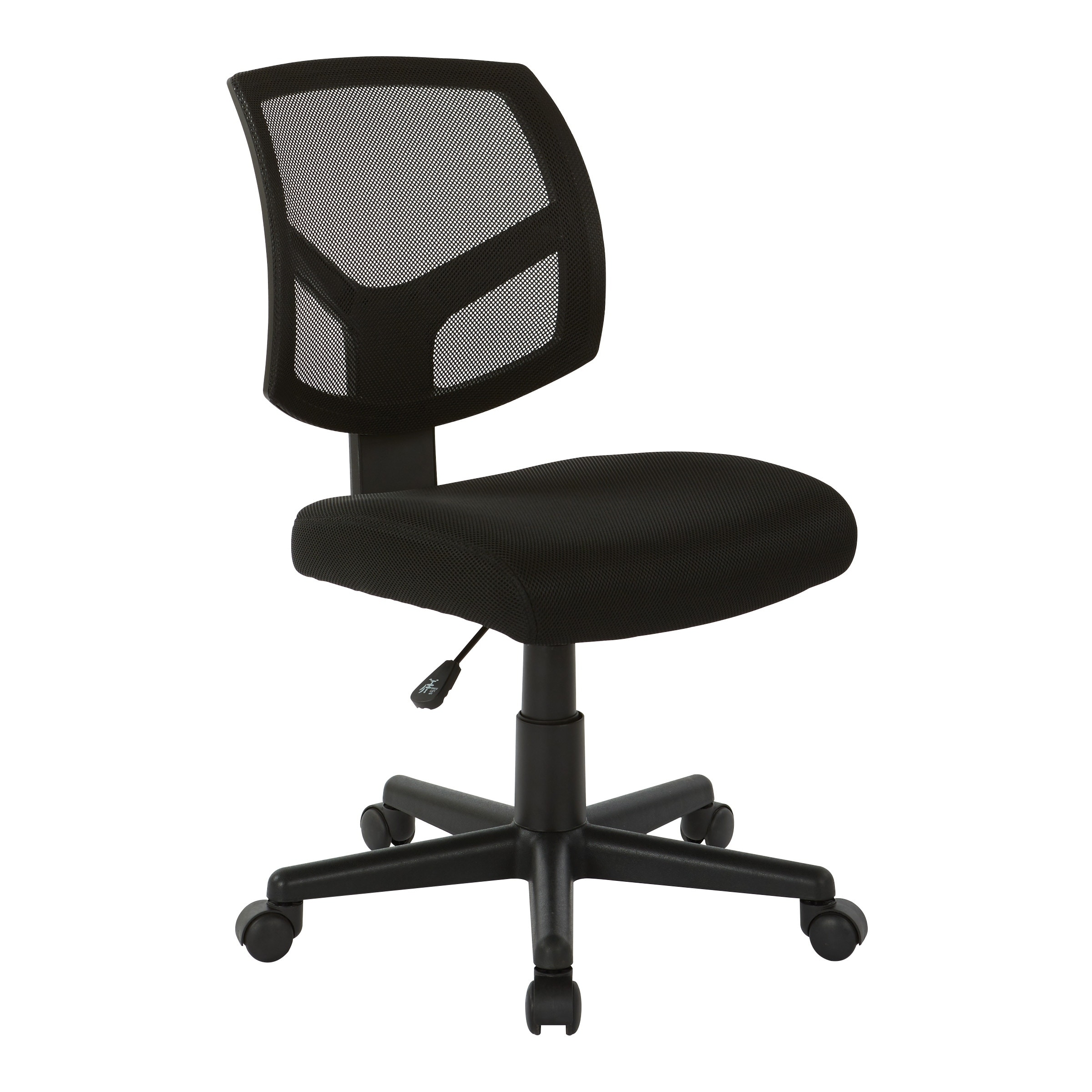 Details About Office Star Work Smart Screen Back Task Chair With Black Black