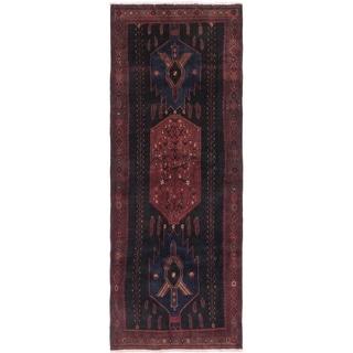 Hand Knotted Kelardasht Semi Antique Wool Runner Rug - 5' 2 x 12' 9