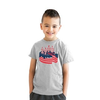 Youth American Cake Tshirt Cute 4th of July Tee For Kids