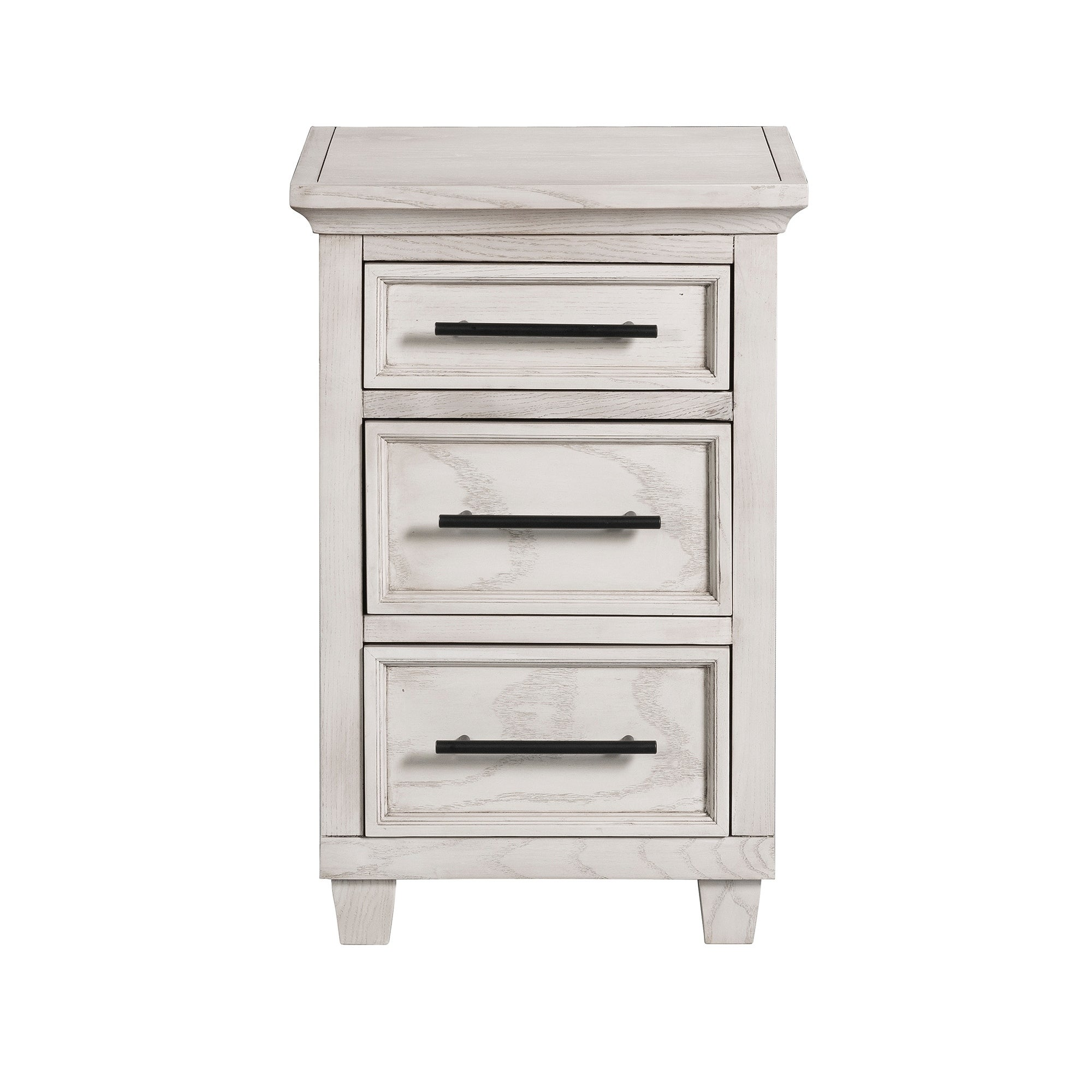 Woodland 3 Drawer Small Nightstand
