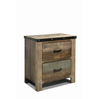 Carbon Loft Kiessling Antique Nightstand