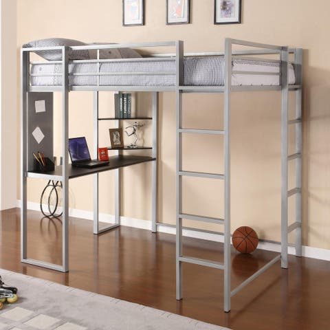 Taylor & Olive Tubmill Abode Full-size Metal Loft Bed