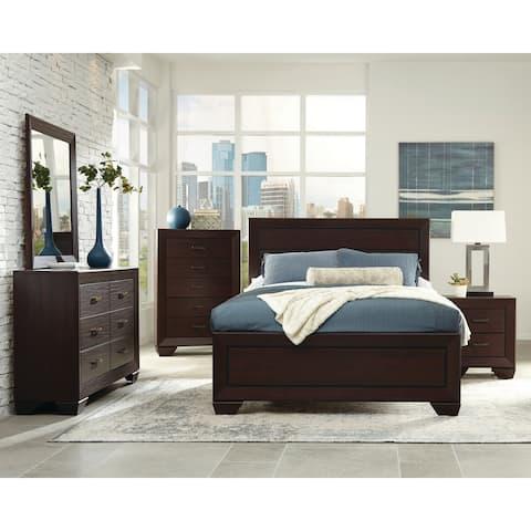 Strick & Bolton Dulah Dark Cocoa 4-piece Bedroom Set