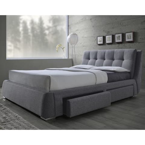 Buy Queen Size Storage Bed Wood Online At Overstock Our