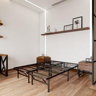 OSleep Platform 14-inch Heavy Duty Metal Bed Frame/ Mattress Foundation