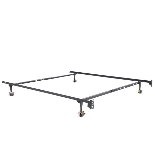 Shop Osleep Standard Heavy Duty Adjustable Metal Bed Frame