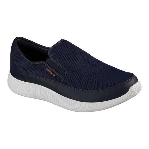 0af9c12a2cf ... Men's Athletic Shoes. Men's Skechers Depth Charge Flish Slip-On  Sneaker Navy