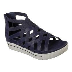 Women's Skechers Cali Strut Sass N Swag Strappy Sandal Navy