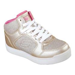 Girls' Skechers Energy Lights E-Pro Glitter Glow High Top Sneaker Gold