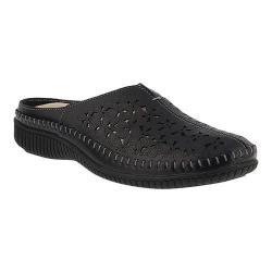 Women's Spring Step Parre Clog Black Leather