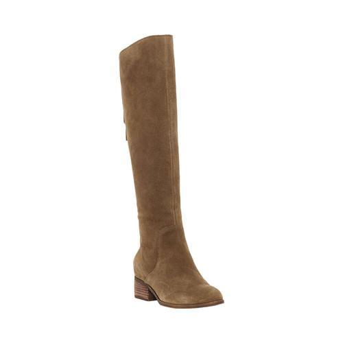 Sale Latest Free Shipping Find Great Lucky Brand Lanesha Wide Calf Knee High Boot(Women's) -Storm Suede SuFDOdOo