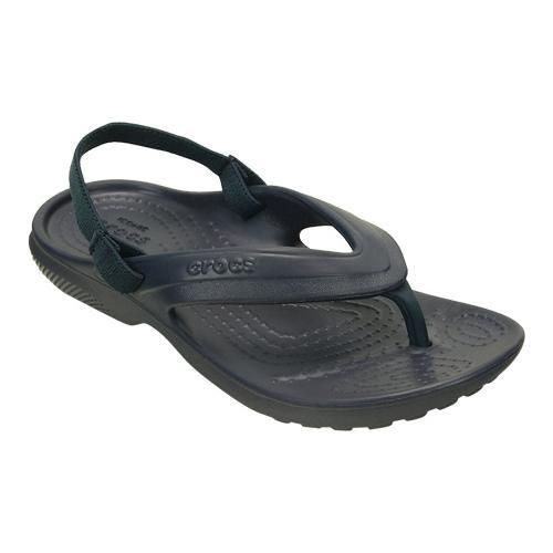 26b39db7a Shop Children s Crocs Classic Flip Flop Sandal Juniors Navy - Free Shipping  On Orders Over  45 - Overstock - 20001076