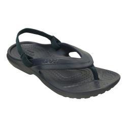 Children's Crocs Classic Flip Flop Sandal Juniors Navy