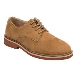 Boys' Deer Stags Denny Plain Toe Oxford Chestnut Microsuede