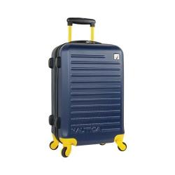 Nautica Tide Beach 21in Hardside Spinner Navy/Mari Gold