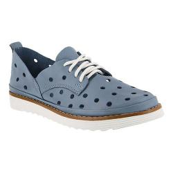 Women's Spring Step Grisel Sneaker Blue Leather